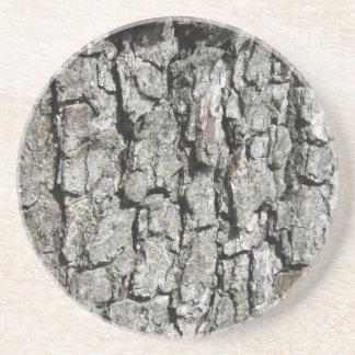 Porta-copos De Arenito Fundo da textura do latido de árvore da pera