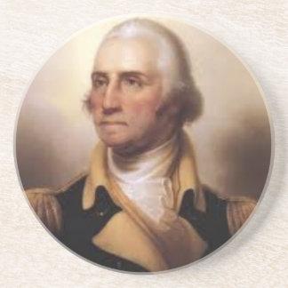 Porta-copos De Arenito George Washington