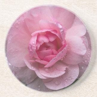 Porta-copos De Arenito Gotas cor-de-rosa