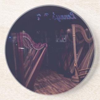 Porta-copos De Arenito Harpa na sombra