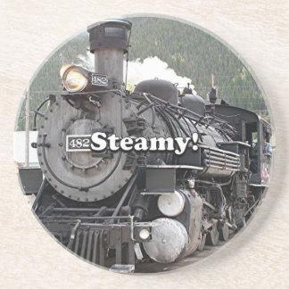 Porta-copos De Arenito Húmido!: cozinhe o motor do trem, Colorado, EUA 8