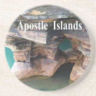 Porta-copos De Arenito Ilhas do apóstolo