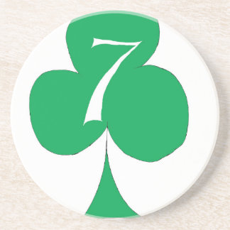 Porta-copos De Arenito Irlandês afortunado 7 dos clubes, fernandes tony