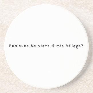 Porta-copos De Arenito Italiano-Vila