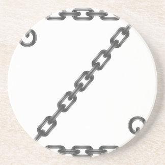 Porta-copos De Arenito letra chain