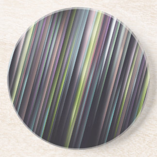 Porta-copos De Arenito Listras de incandescência coloridas