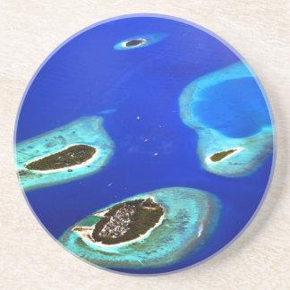 Porta-copos De Arenito Maldives