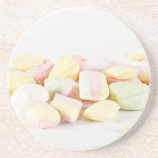 Porta-copos De Arenito Marshmallows dos doces