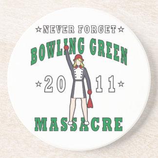 Porta-copos De Arenito Massacre 2011 de Bowling Green