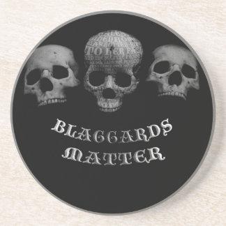 Porta-copos De Arenito Matéria de Blaggards