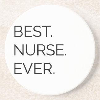 Porta-copos De Arenito Melhor. Enfermeira. Nunca