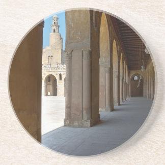 Porta-copos De Arenito Mesquita o Cairo de Ibn Tulun