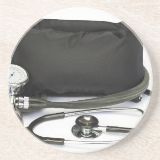 Porta-copos De Arenito Monitor profissional preto da pressão sanguínea no