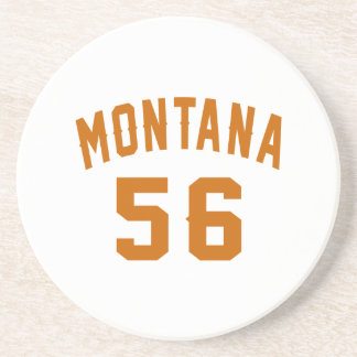 Porta-copos De Arenito Montana 56 designs do aniversário