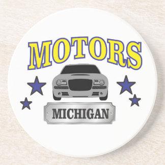 Porta-copos De Arenito Motores de Michigan