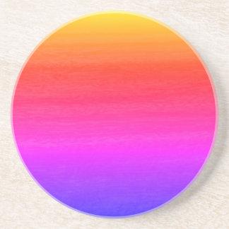 Porta-copos De Arenito Multi efeito do inclinação da cor