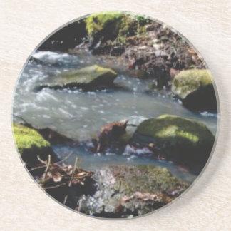 Porta-copos De Arenito musgo em The Creek
