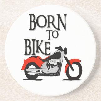 Porta-copos De Arenito Nascer à bicicleta