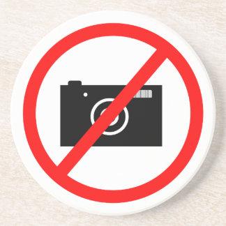 Porta-copos De Arenito Nenhuma câmera permitida, nenhumas imagens, não