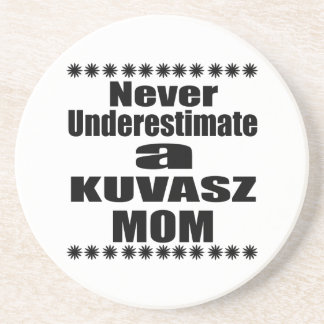 Porta-copos De Arenito Nunca subestime a mamã de KUVASZ