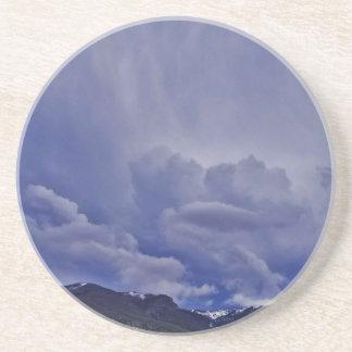 Porta-copos De Arenito Nuvens 1 do rastejamento