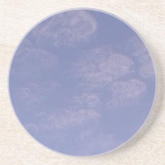 Porta-copos De Arenito Nuvens estranhas 1