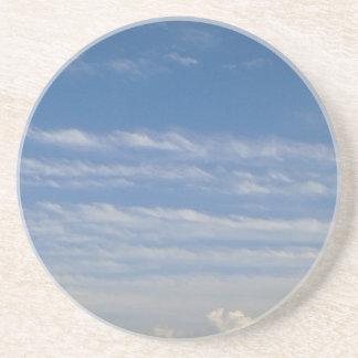 Porta-copos De Arenito Nuvens misturadas