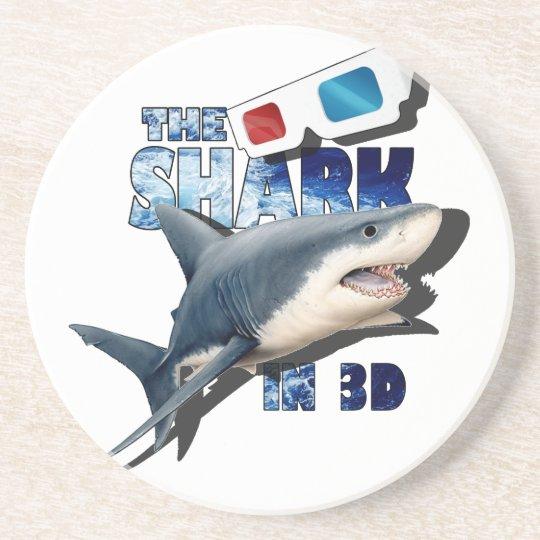 Porta-copos De Arenito O filme do tubarão