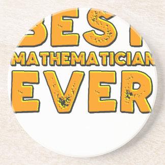 Porta-copos De Arenito O melhor matemático nunca