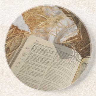 Porta-copos De Arenito O presente do Natal espalhou o evangelho