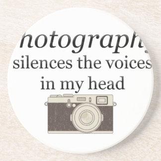 Porta-copos De Arenito o pstvimhPhotography silencia as vozes em minha