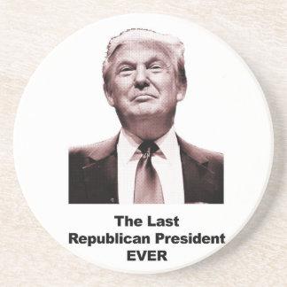 Porta-copos De Arenito O último presidente republicano Nunca