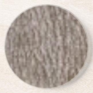 Porta-copos De Arenito ondinhas do latido branco