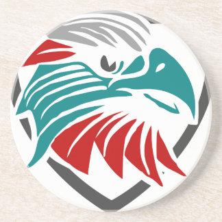 Porta-copos De Arenito Orgulho e proteção de Eagle