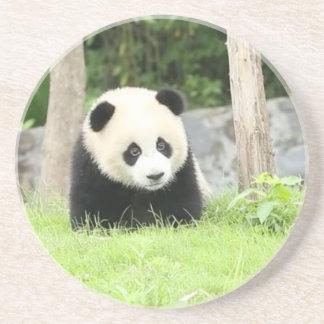 Porta-copos De Arenito Panda do bebê