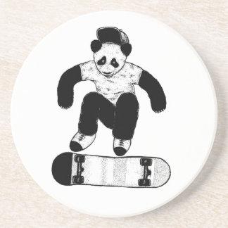 Porta-copos De Arenito Panda Skateboarding