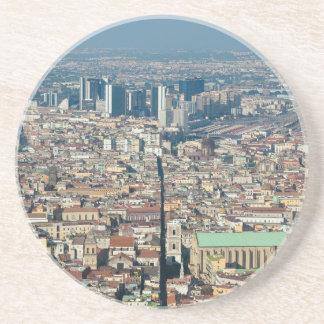Porta-copos De Arenito Panorama de Nápoles