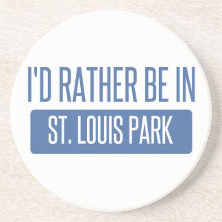 Porta-copos De Arenito Parque de St Louis