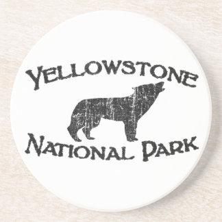 Porta-copos De Arenito Parque nacional de Yellowstone