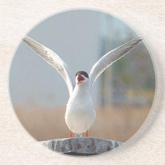 Porta-copos De Arenito pássaros
