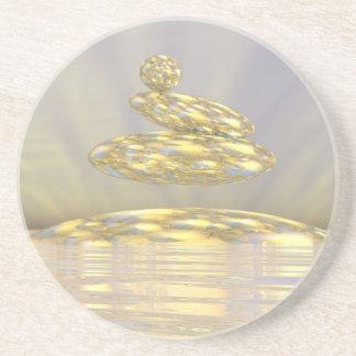 Porta-copos De Arenito Pedras do zen - 3D rendem