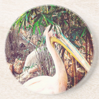 Porta-copos De Arenito pelicanos