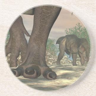 Porta-copos De Arenito Pés do dinossauro do rex do tiranossauro - 3D