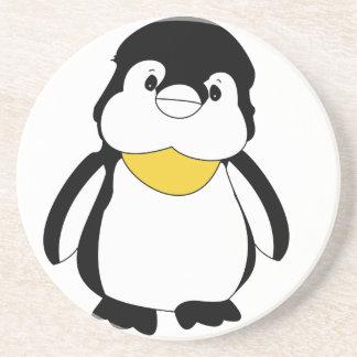 Porta-copos De Arenito Pinguim pequeno bonito