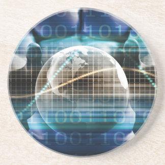 Porta-copos De Arenito Plataforma da segurança do controlo de acessos