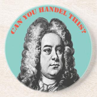 """Porta-copos De Arenito Pode você Handel isto """""""