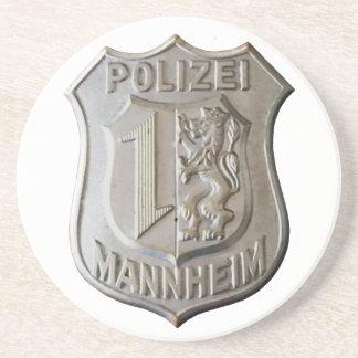 Porta-copos De Arenito Polizei Mannheim