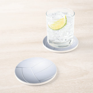 Porta-copos De Arenito Presentes do esporte do voleibol |
