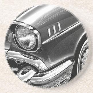 Porta-copos De Arenito Preto 1957 & branco do Bel Air de Chevrolet