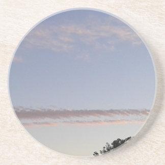 Porta-copos De Arenito Raia da nuvem